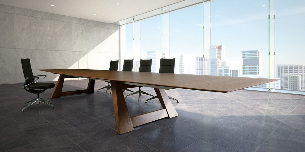 Striking Minimalistic Conference Table